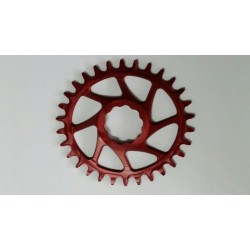 Plato Garbaruk Direct Mount GXP OVAL Rojo