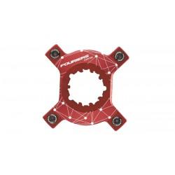 Araña Fouriers GXP104 Rojo