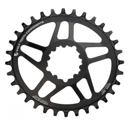 Plato Wolf Tooth Oval GXP Negro
