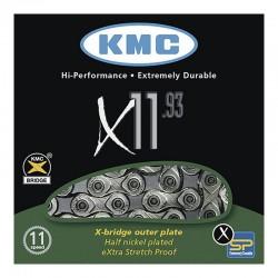Cadena KMC X11.93 Plata