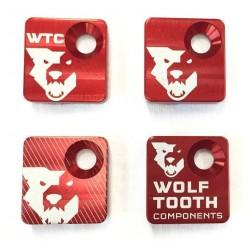 Tapa Desviador Delantero Wolf Tooth Rojo