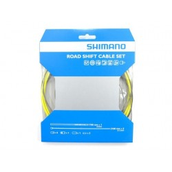 Kit Cables y Fundas Shimano Cambio Amarillo