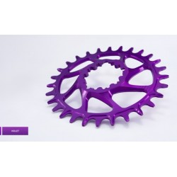 Plato Garbaruk Direct Mount GXP OVAL Violeta
