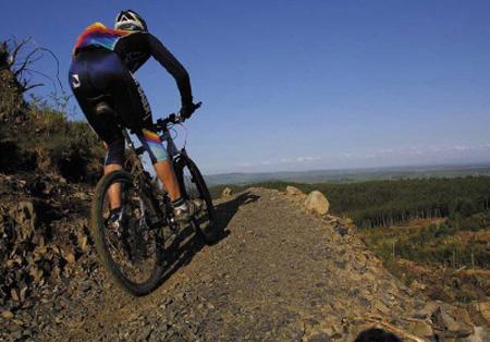 ruta ciclismo montaña