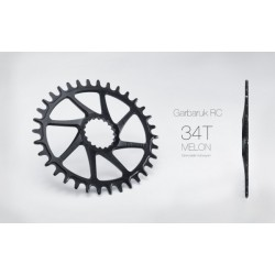 Plato Garbaruk Cannondale Hollowgram OVAL Negro