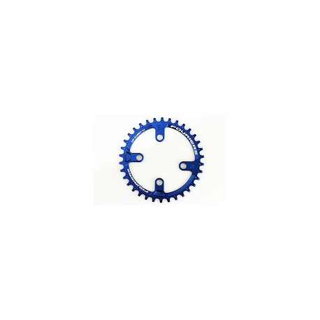Plato Fouriers 96bcd Shimano Azul