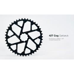 Piñon 42 Garbaruk Shimano-Sram Negro