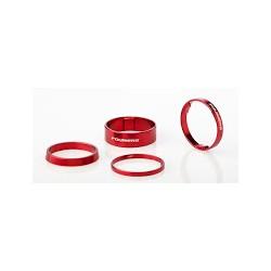 Espaciador dirección Fouriers Aluminio Rojo