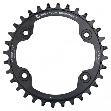 Plato Wolf Tooth 96BCD XTR Negro