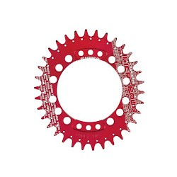 Plato Fouriers Oval 96BCD XTR M9000 Rojo