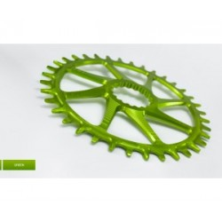 Plato Garbaruk Cannondale Hollowgram Oval Verde