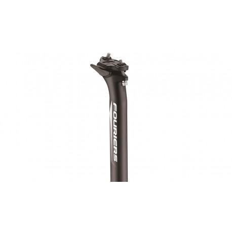 Tija Fouriers AG12 12mm 400mm Negro
