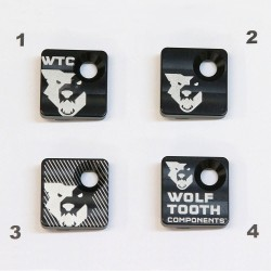 Tapa Desviador Delantero Wolf Tooth Negro