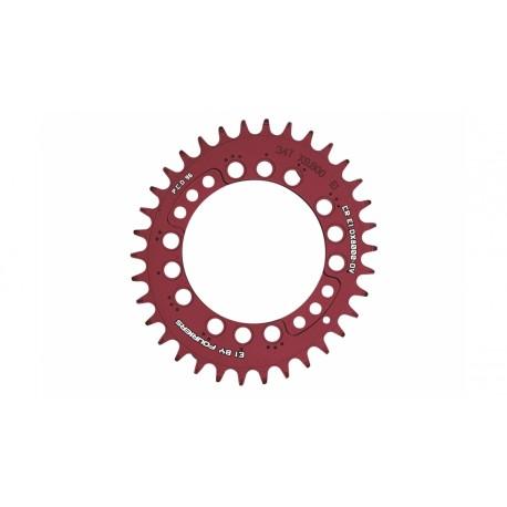 Plato Fouriers E1 Oval XT M8000 Rojo