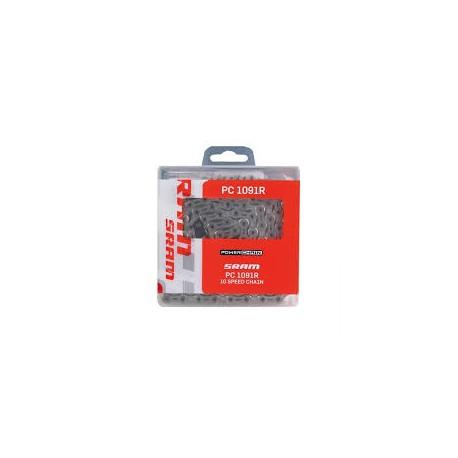 Cadena Sram PC-1091R Power Lock 10v A