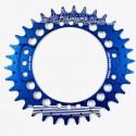 Plato Fouriers Oval 104BCD Azul