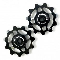 Roldanas Cambio Fouriers Ceramicas Negro