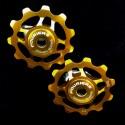 Roldanas Cambio Fouriers Ceramicas Oro