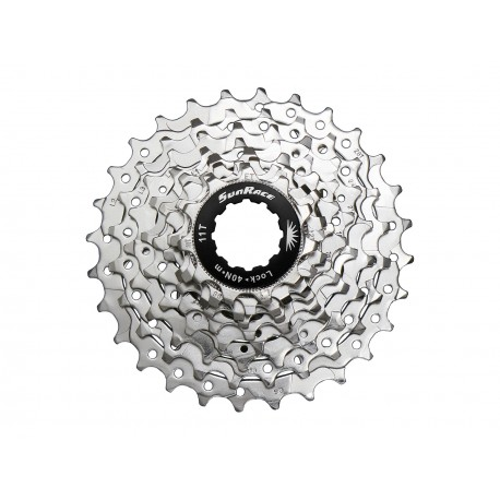 Cassette Sunrace CSR86 11-28 8V Nickel