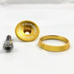Tapa Dirección Fouriers DX002 Oro