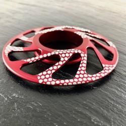 Espaciador Cassette Fouriers DX003 Mtb Rojo