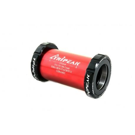 Cazoletas de pedalier Tripeak Rotor 386 ITA Ceramic Negro