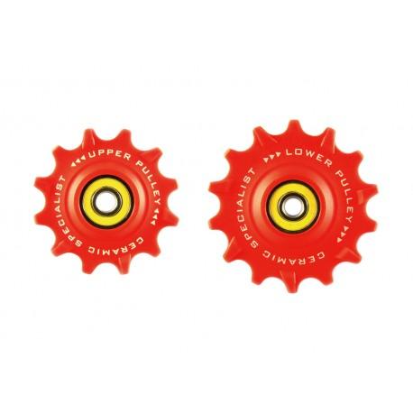 Jgo Roldanas Tripeak Sram Mtb 12-14 Super Ceramic Rojo