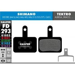 Pastillas Freno Galfer Standard Shimano Deore BRM416,445,446,485,486,515,525,575,BRC601