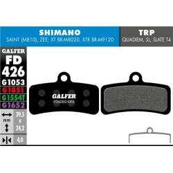 Pastillas Freno Galfer Standard Shimano Saint, Zee, XT BRM8020, XTR BRM9120 (4p)