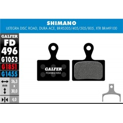 Pastillas Freno Galfer Standard Shimano Ultegra Disc, Dura-Ace, BRRS305,RS405,RS805, XTR BRM9100 (2p)