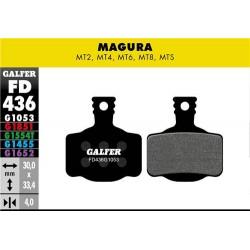 Pastillas Freno Galfer Standard Magura MT2, MT4, MT6, MT8, MTS