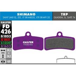 Pastillas Freno Galfer E-Bike Shimano Saint, Zee, XT BRM8020, XTR BRM9120 (4p)