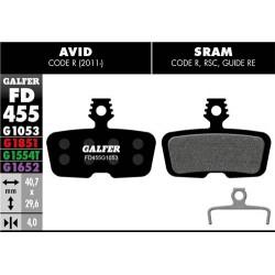 Pastillas Freno Galfer Standard Avid/Sram Code R 2011 / Guide RE