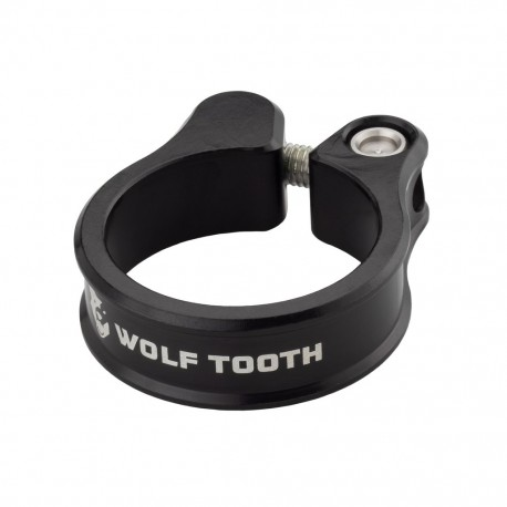 Cierre Sillín Wolf Tooth CNC Tornillo Negro