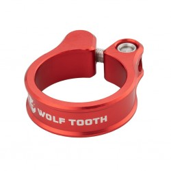 Cierre Sillín Wolf Tooth CNC Tornillo Rojo