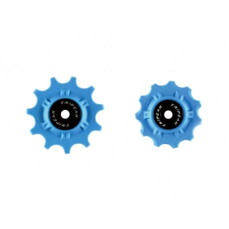 Tripeak Jgo Roldanas Shi Dura-Ace/Ultegra 12-14 Super Ceramic Azul 11V