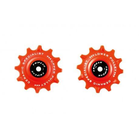 Jgo Roldanas Tripeak Shimano Dura-Ace/Ultegra 12-12 Super Ceramic Rojo 11V