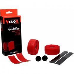 Cinta Manillar Velox Soft Micro Perforada Rojo