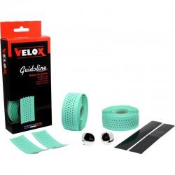 Cinta Manillar Velox Soft Micro Perforada Verde Bianchi