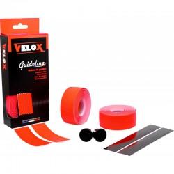 Cinta Manillar Velox Soft Micro Perforada Rojo Fluor