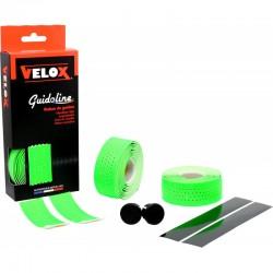 Cinta Manillar Velox Soft Micro Perforada Verde Fluor