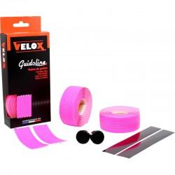 Cinta Manillar Velox Soft Micro Perforada Rosa Fluor