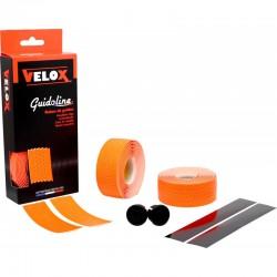 Cinta Manillar Velox Soft Micro Perforada Naranja Fluor