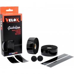 Cinta Manillar Velox Gloss Micro Perforada Negro