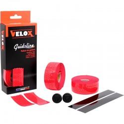 Cinta Manillar Velox Gloss Micro Perforada Rojo