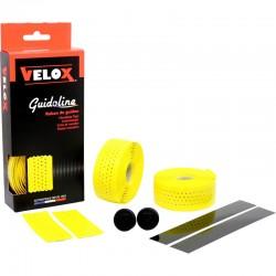 Cinta Manillar Velox Gloss Micro Perforada Amarillo