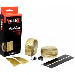 Cinta Manillar Velox Gloss Micro Perforada Oro
