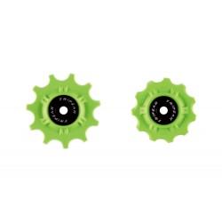 Roldanas Tripeak Shimano Dura-Ace/Ultegra 12-12 Super Ceramic Verde 11V