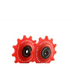 Jgo Roldanas Tripeak Shimano XTR 13-13 Super Ceramic Rojo 12V