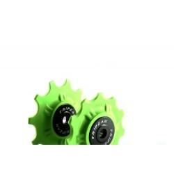 Jgo Roldanas Tripeak Shimano XTR 13-13 Super Ceramic Verde 12V